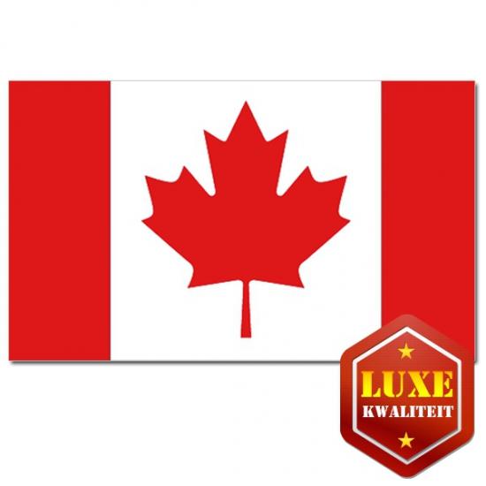 Feestartikelen Luxe vlag Canada
