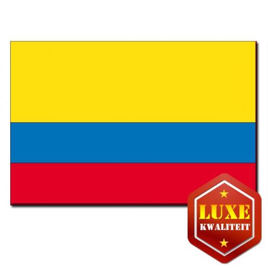 Feestartikelen Luxe vlag Ecuador zonder wapen