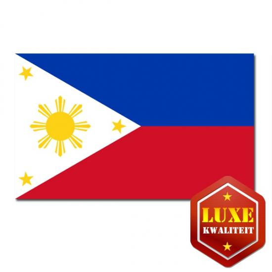 Feestartikelen Luxe vlag Filipijnen