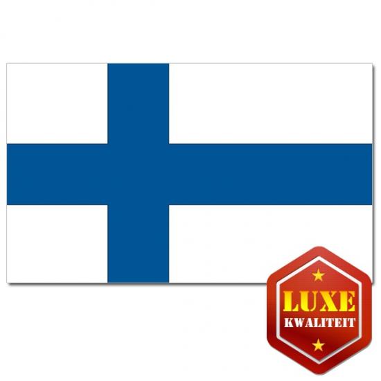 Feestartikelen Luxe vlag Finland