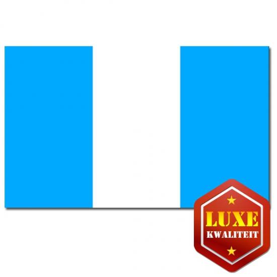 Feestartikelen Luxe vlag Guatemala