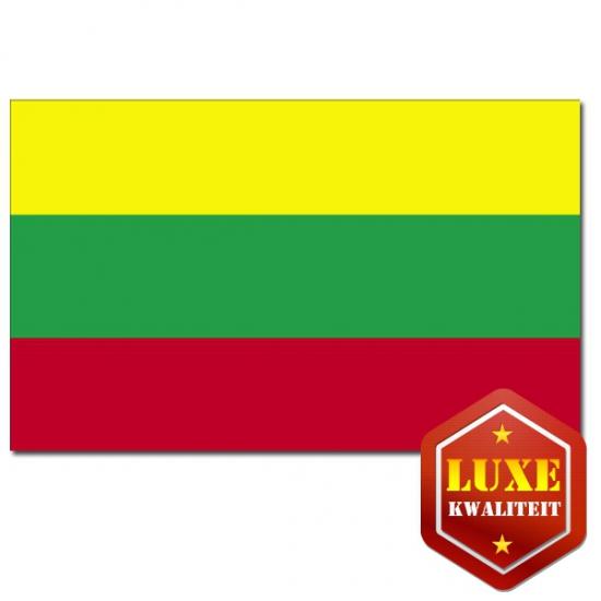 Feestartikelen Luxe vlag Litouwen