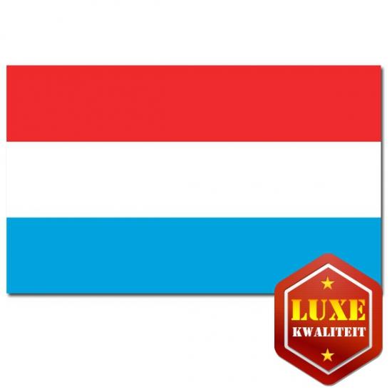 Feestartikelen Luxe vlag Luxemburg