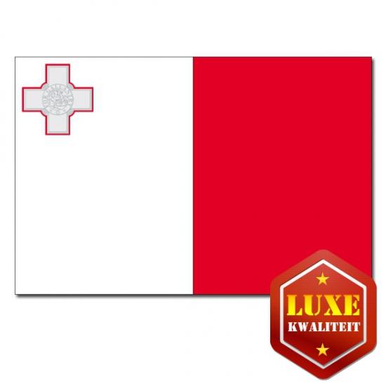 Feestartikelen Luxe vlag Malta