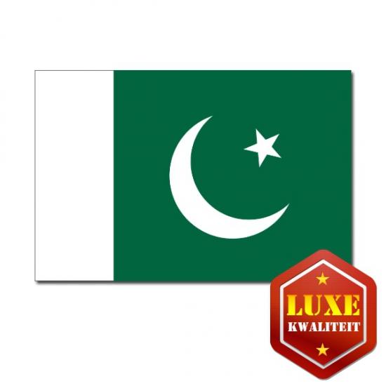 Feestartikelen Luxe vlag Pakistan