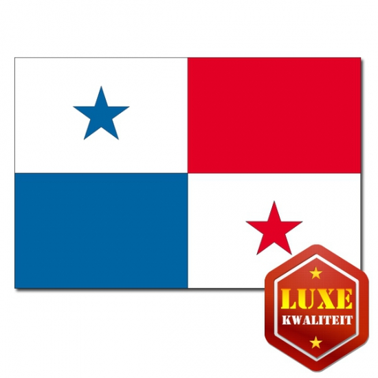Feestartikelen Luxe vlag Panama