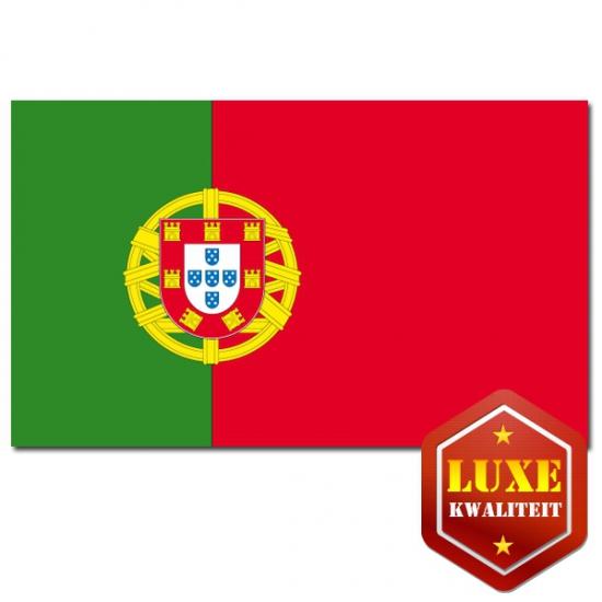 Feestartikelen Luxe vlag Portugal