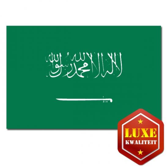 Feestartikelen Luxe vlag Saoedi Arabi?