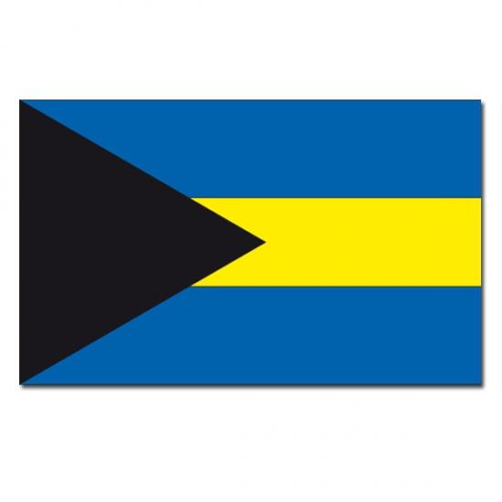 Feestartikelen Vlag Bahamas
