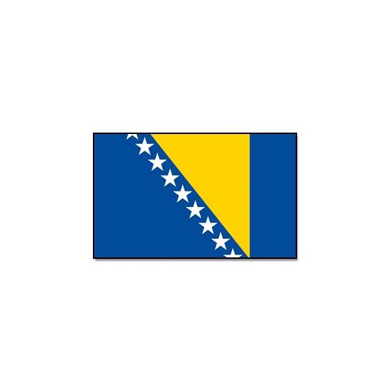 Feestartikelen Vlag Bosnie en Herzegovina