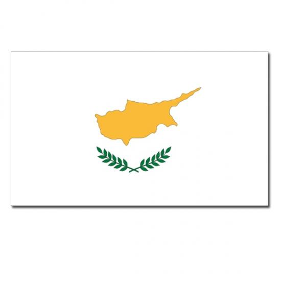 Feestartikelen vlag Cyprus