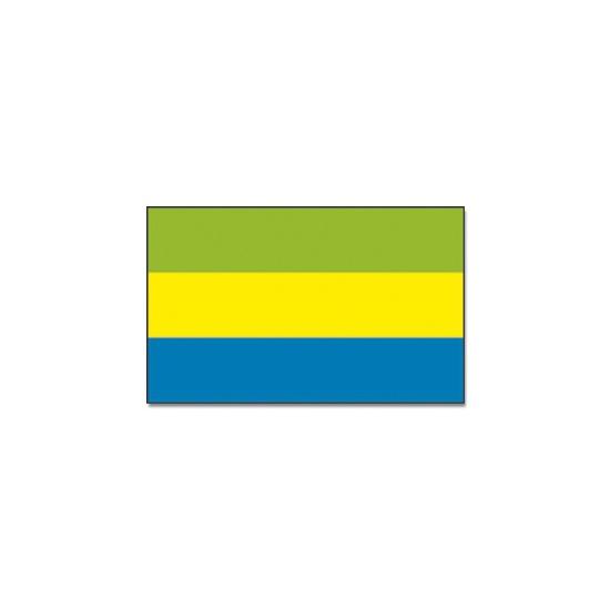 Feestartikelen vlag Gabon