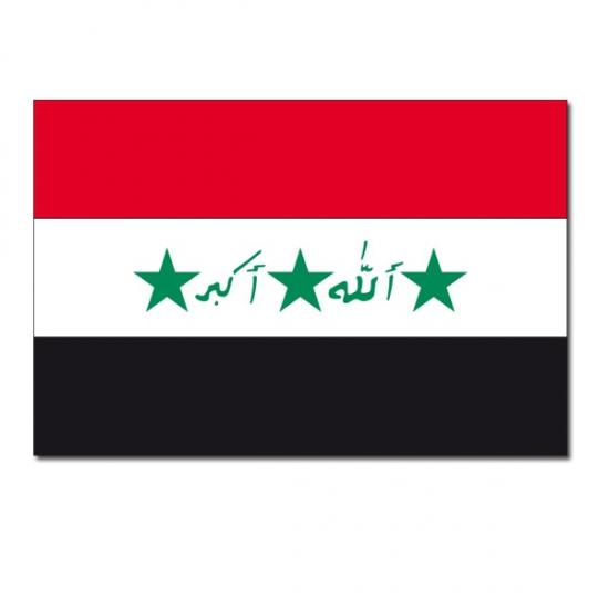 Feestartikelen Vlag Irak