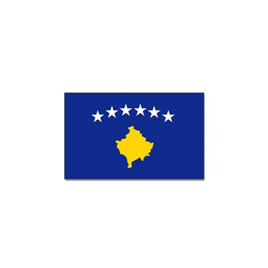 Feestartikelen Vlag Kosovo