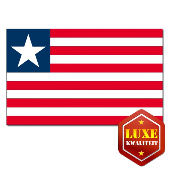 Feestartikelen Vlag Liberia
