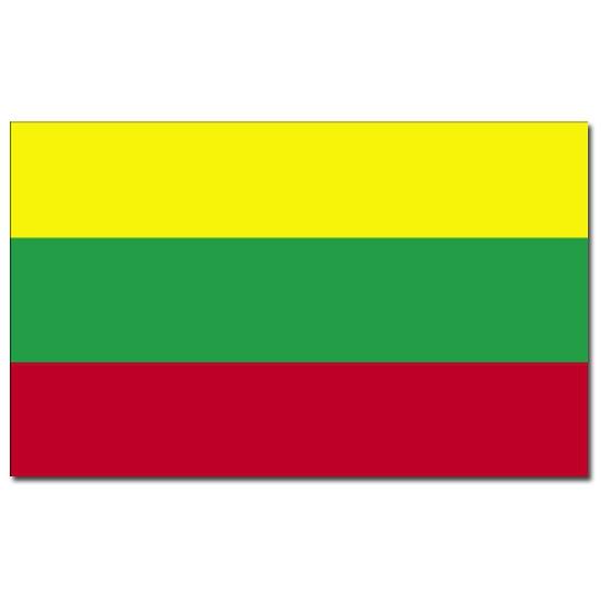 Feestartikelen vlag Litouwen