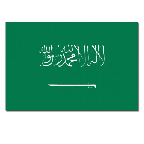 Feestartikelen vlag Saoedi Arabie