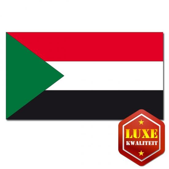 Feestartikelen Vlag Sudan