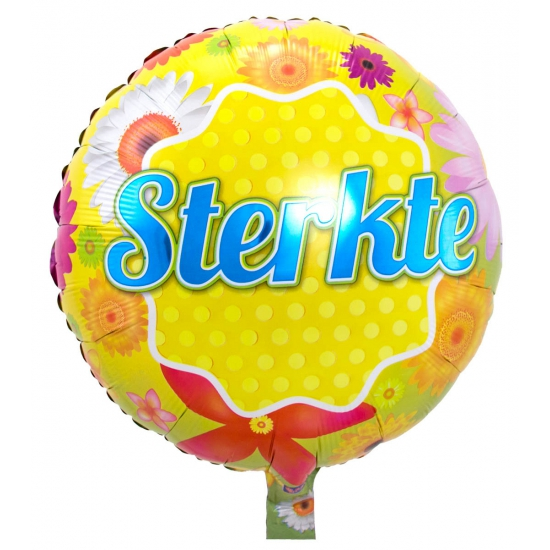 Helium folie ballonnen Sterkte