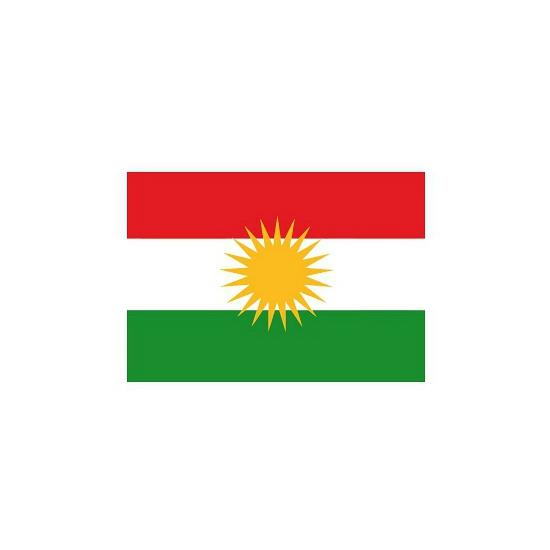 Kleine Koerdistan vlaggen stickers