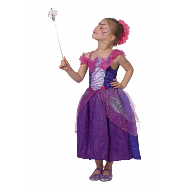 Sprookjes jurken voor meisjes paars