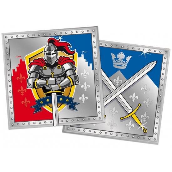 20x Ridder themafeest servetten 33 x 33 cm papier