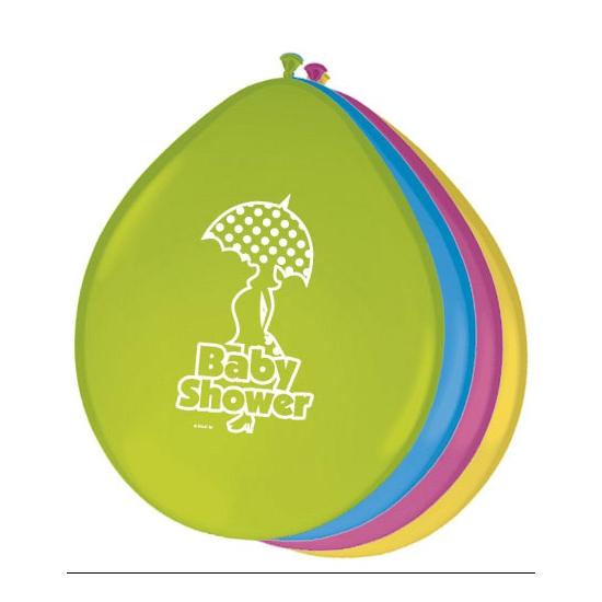 Babyshower decoratie ballonnen