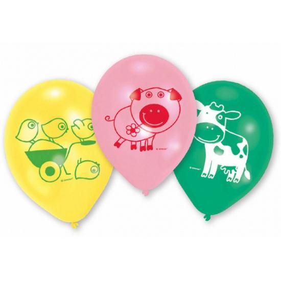 Ballonnen van boerderij dieren