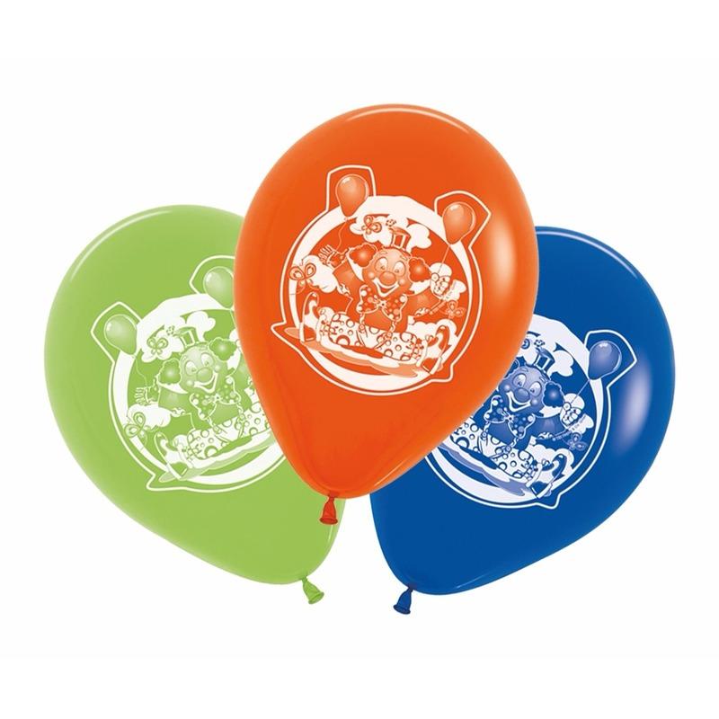 Circus thema kinder ballonnen 5 stuks