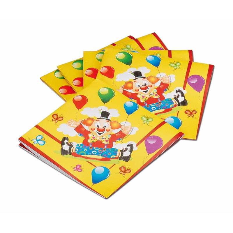 Circus thema kinder servetjes 33 cm