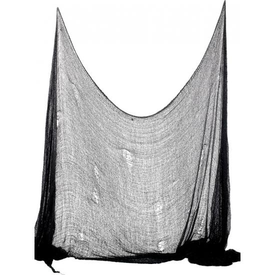 Decoratie doek zwart halloween 300 cm