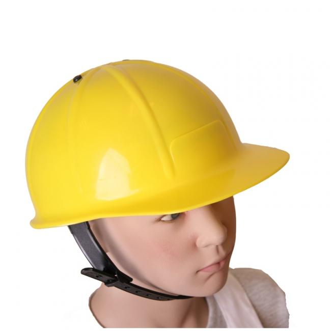 Feestartikelen Gele Bob de Bouwer helm
