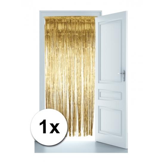 Feestartikelen Gouden deur gordijn