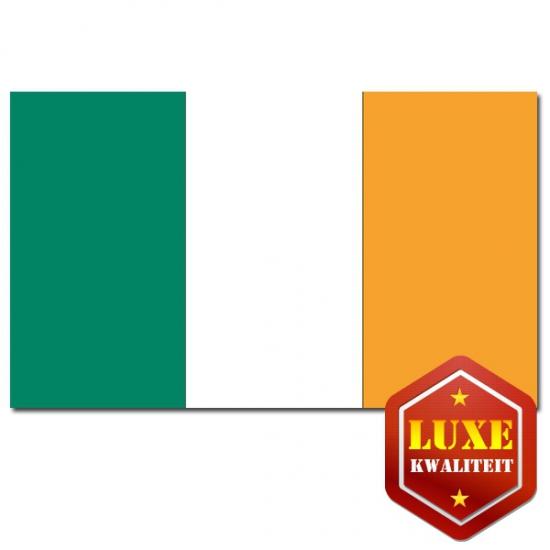 Feestartikelen Luxe vlag Ierland
