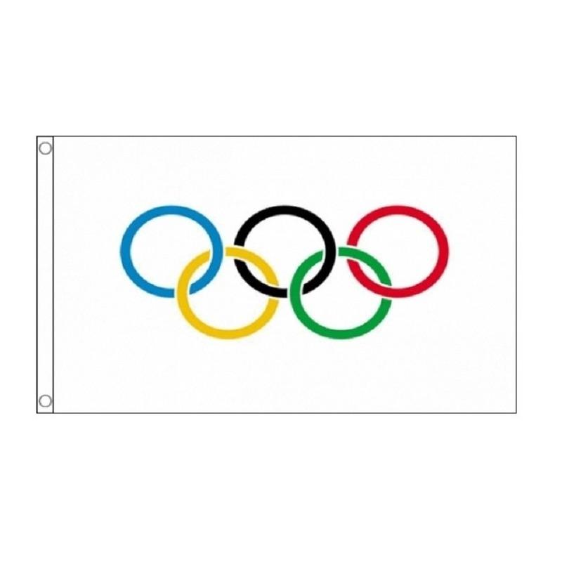 Feestartikelen Olympische vlag