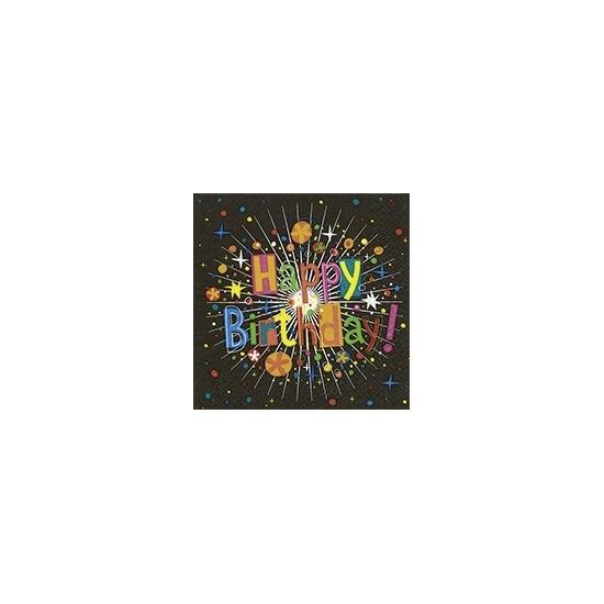 Feestartikelen servetten happy birthday