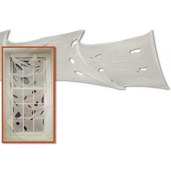 Griezelige muurdecoratie laken