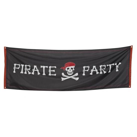 Grote piraten vlaggen 74 x 220 cm