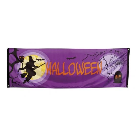 Halloween gevelvlag 220 cm