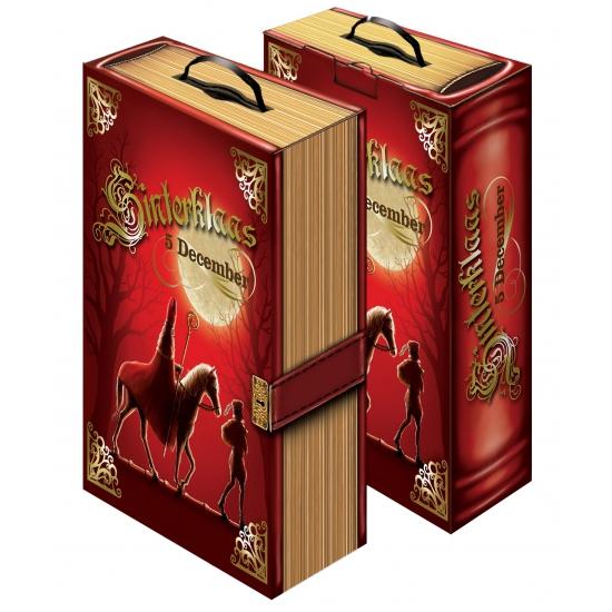 Het boek van Sinterklaas decoratie