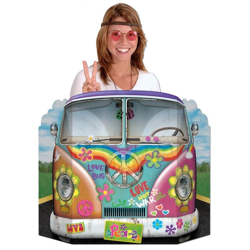 Hippie foto borden 94 x 63 cm