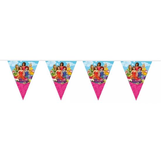 Kinderfeestje Prinsessia vlaggenlijn 10 meter
