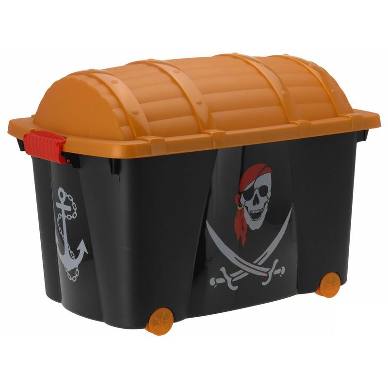 Kinderspeelgoed Piraten kist 60 x 40 x 42 cm