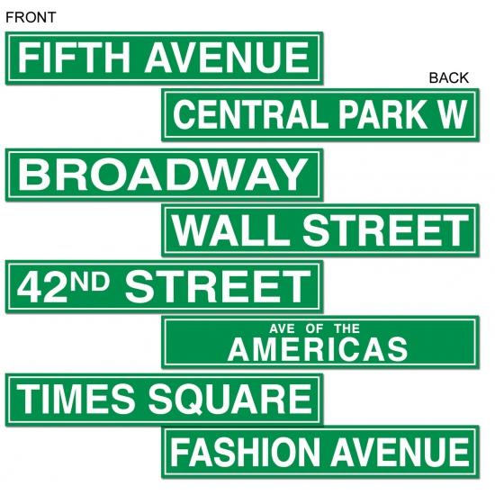 New York thema decoratie 61 cm