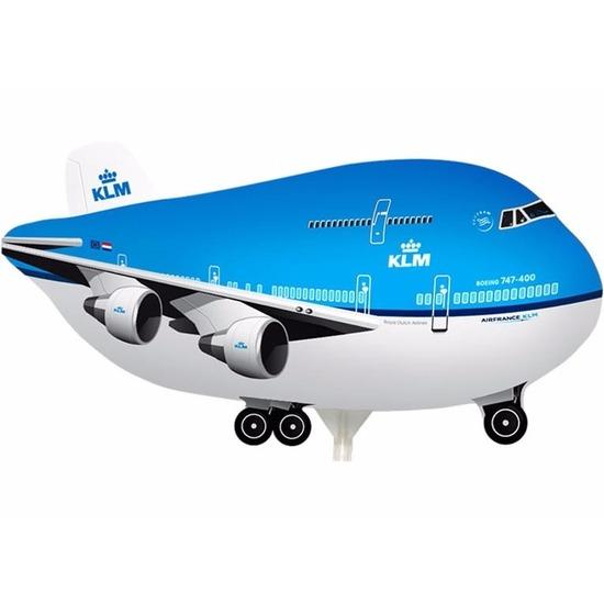 Opblaas ballon KLM vliegtuig