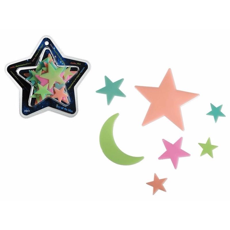 Oplichtende sterrenhemel 30 sterren
