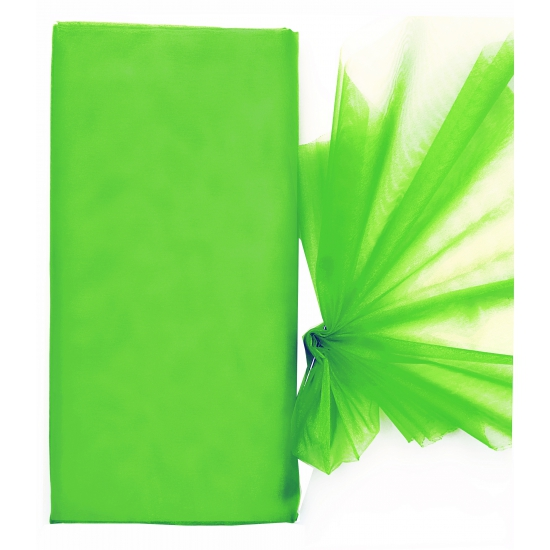 Organza tule stoffen groen 150 x 300 cm