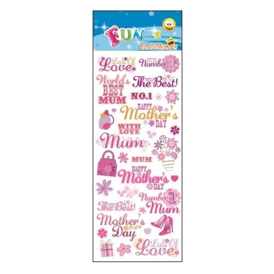 School stickers moederdag