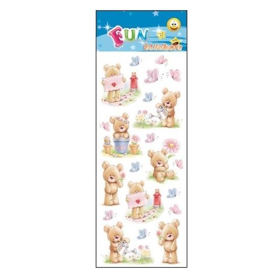 School stickers teddy beren
