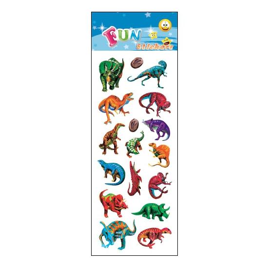 Stickersetje dinosaurus